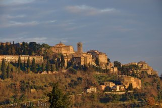 the golden citta di Montepulciano