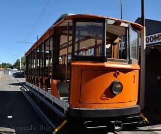 The-orange-tram