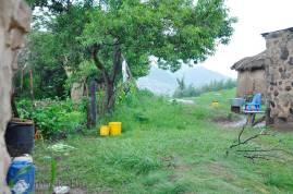 A backyard in Lesotho
