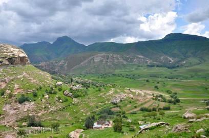 The Valley below